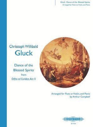 Gluck - Dance Of The Blessed Spirits (Edition Peters)