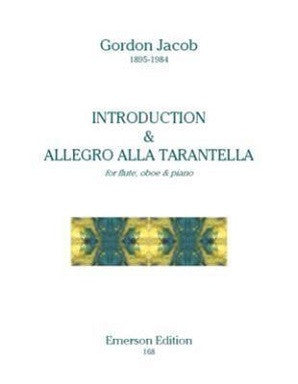 Jacob, G - Introduction & Allegro Alla Tarantella (Emerson)