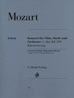 Mozart - Concerto K 299 in C major for Flute, Harp and Piano (Henle)