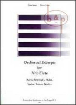 Orchestral Excerpts for Alto Flute (Broekmans)