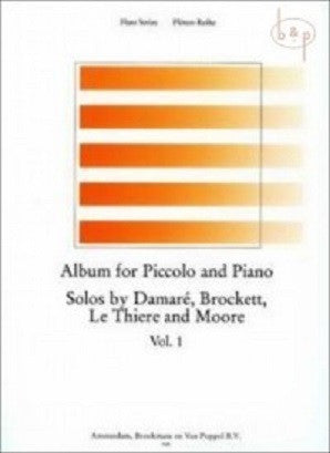 Wye, Trevor- Album for two piccolos and piano (Broekmans) Vol 1