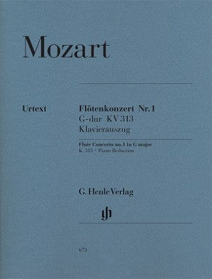 Mozart, WA -Concerto for Flute and Orchestra G major K. 313 (Henle)