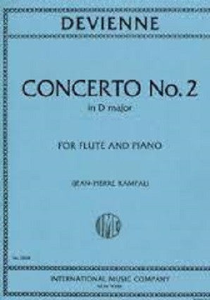 Devienne ,Francois - Concerto No.2 in D major (IMC)