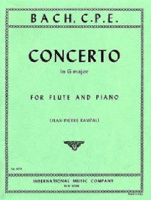 Bach, CPE - Concerto in G major Wq 169 (IMC)