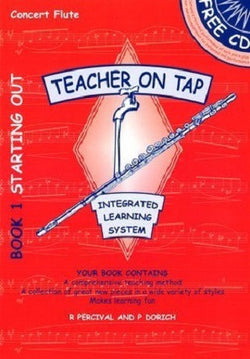 Teacher On Tap Concert Flute Book 1