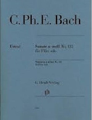 Bach, CPE - Sonata in A minor Wq 132 (Henle)