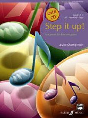 Chamberlain, L - Step It Up! (with CD) (Instrumental Solo & Piano Accompaniment) (Faber)