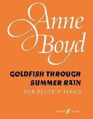 Boyd, Anne - Goldfish Through Summer Rain (Instrumental Solo) (Faber)