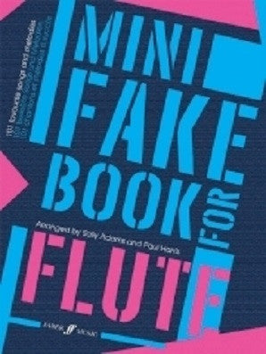 Adams, Sally - Mini Fake Book for Flute (Instrumental Solo) (Faber)