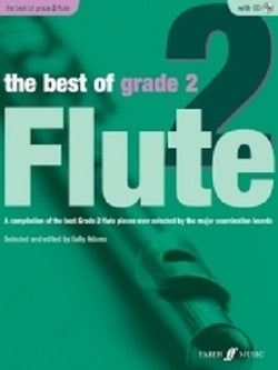 Adams, Sally - The Best Of Grade 2 Flute (Instrumental Solo & Piano Accompaniment) (Faber)