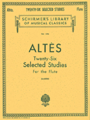 Altes - Twenty-Six Selected Studies
