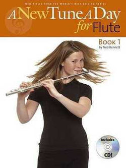 A New Tune A Day for Flute - Book 1 (CD Edition)