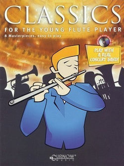 Classics for the Young Flute Player with CD (Cunrow Music)