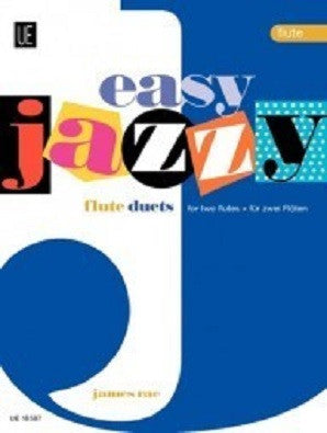 Rae, James - Easy Jazzy Duets - Flutes for 2 flutes (Universal)