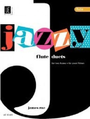 Rae, James - Jazzy Duets for 2 flutes (Universal)