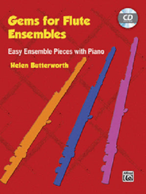 Butterworth, Helen Gems for Flute Ensembles Easy Ensemble Pieces with Piano (Alfred)