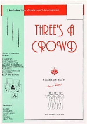 Three's A Crowd Flute Trios Junior Book A