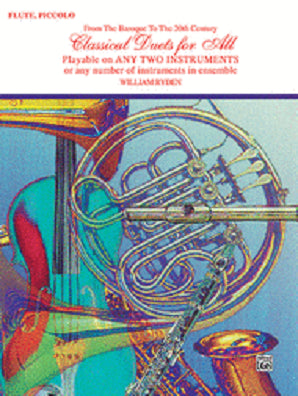 Classical Duets For All (Flute, Piccolo)