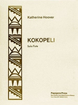 Hoover, K - Kokopeli Op. 43 (Papagena Press)