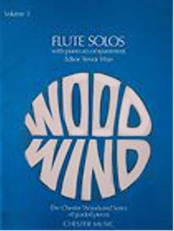 Flute Solos Vol 3 ed T Wye (Chester)