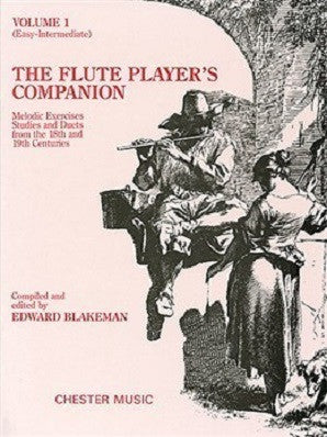 The Flute Player's Companion - Volume 1 (Blakeman) (Chester)