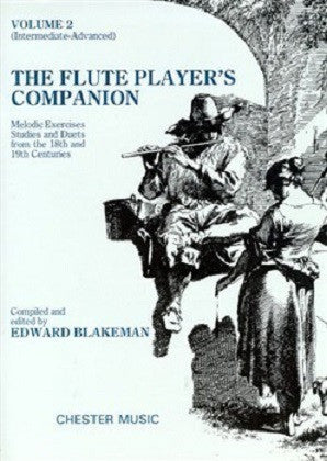 The Flute Player's Companion - Volume 2 (Blakeman) (Chester)