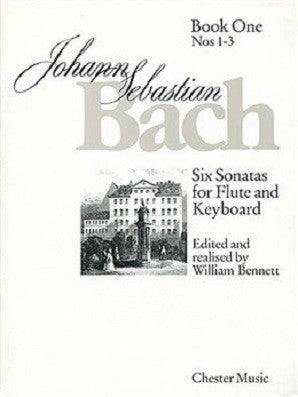 Bach J S - Six Sonatas For Flute And Keyboard Book One Nos. 1-3 (Chester)