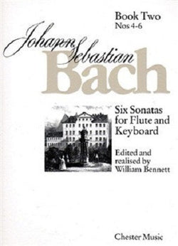 Bach, JS - Six Sonatas For Flute And Keyboard Book Two Nos. 4-6 (Chester)