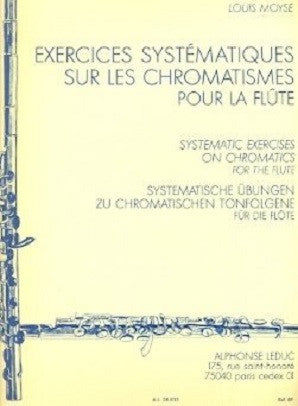 Moyse, Louis - Systematic Exercises (Leduc)