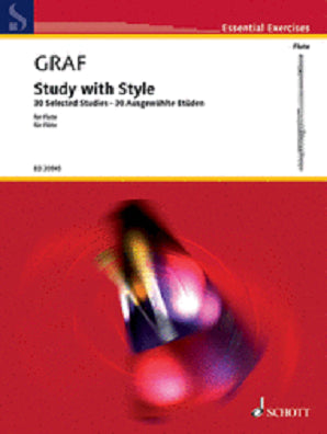 Graf-Lukas, - Study with style 30 selected studies (Schott)