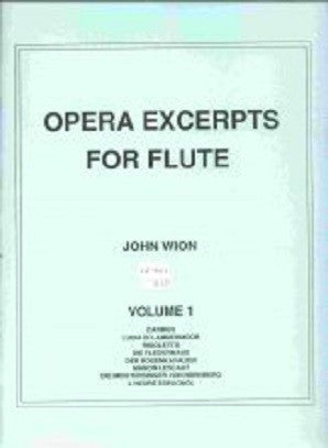 Opera Excerpts vol 1 John Wion - (Falls House Press)