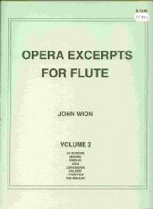 Opera Excerpts vol 2 John Wion - (Falls House Press)