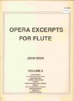 Opera Excerpts vol 3 John Wion - (Falls House Press)