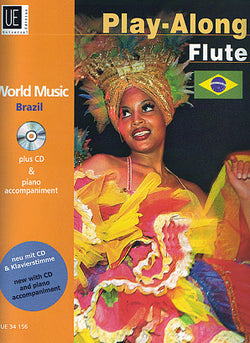 World Music play along Brazil Flute/CD (Universal)