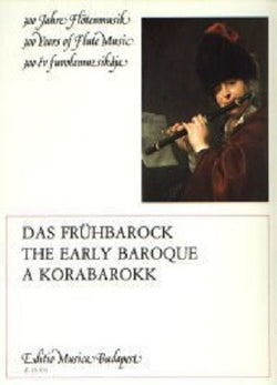 The Early Baroque Book for flute and piano (EMB)