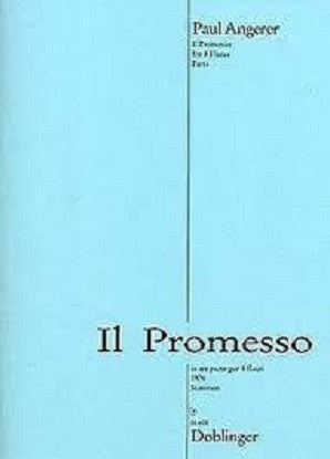 Angerer , Paul - Il Promesso for 8 flutes (Doblinger)