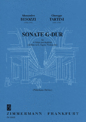 Besozzi, Alessandro -Sonata in G Major for 5 Flutes (Zimmerman)
