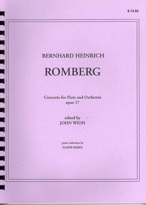 Romberg B.H. Concerto For Flute & Orchestra (J. Wion)