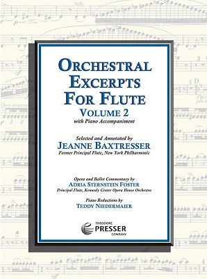 Orchestral Excerpts for Flute Volume 2