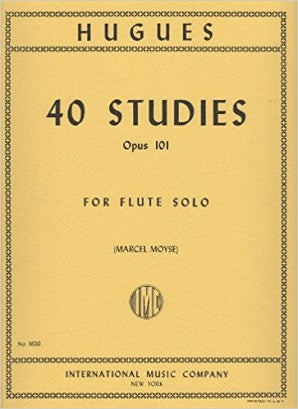 Hugues, L -  40 Studies, Op. 101 (IMC)