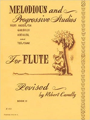 Melodious and Progressive Studies for Flute Book 2: