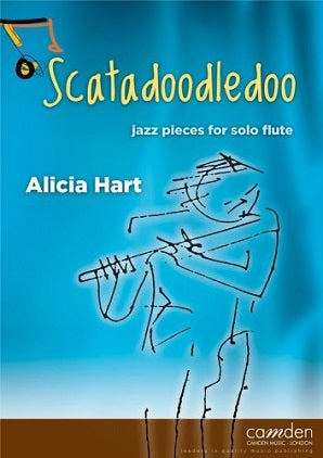 Hart - Scatadoodledoo - Jazz pieces for solo flute