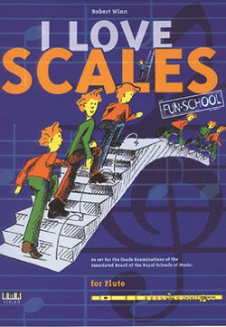 Winn, Robert - I Love Scales for Flute (Book)