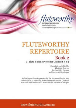 Fluteworthy Repertoire Book 2