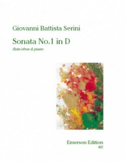 Serini, Giovanni Battista - Sonata No 1 in D Major Flute/Oboe (Emerson)
