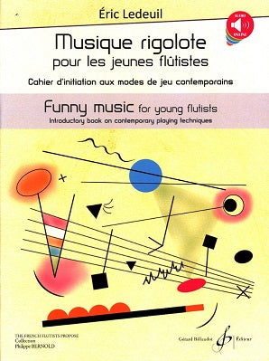 Ledeuil, Eric: Funny Music for young flutists