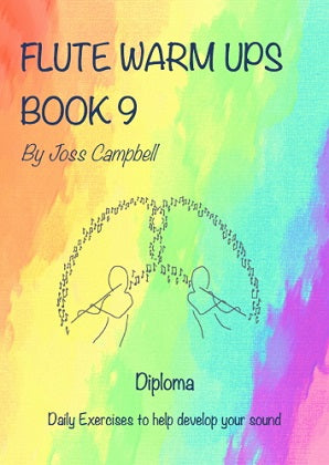 Campbell, J -  Flute Warm Ups Book 9 (Diploma)