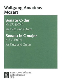 Mozart, Wolfgang Amadeus - Sonata in C major K. 330 for flute and guitar