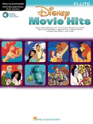 Disney Movie Hits for Flute
