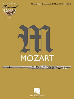 Mozart - Concerto for Flute and Orchestra D major K. 314  (Classical play along)